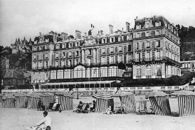 Black Rock Hotel, Trouville, France, C1920S--Giclee Print