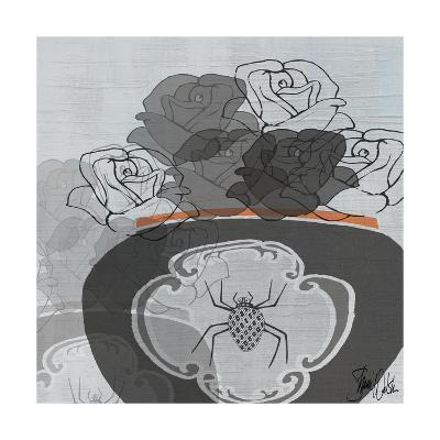Black Roses I-Shanni Welsh-Art Print