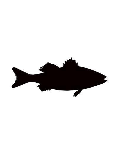 Black Sea Bass-Jetty Printables-Art Print