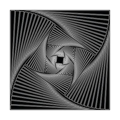 Black Spiral-Nemosdad-Art Print