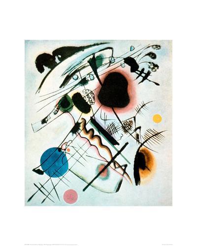 Black Spot, 1921-Wassily Kandinsky-Giclee Print