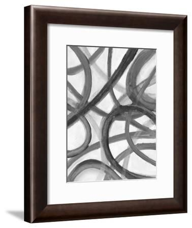 Black Stroke-Smith Haynes-Framed Art Print