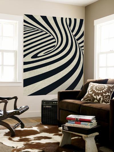 Black Swirls D-THE Studio-Wall Mural