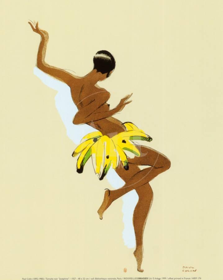 Black Thunder, Josephine Baker Art Print by Paul Colin   the NEW Art.com