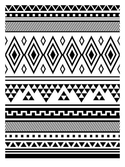 Black Tribal-Jetty Printables-Art Print