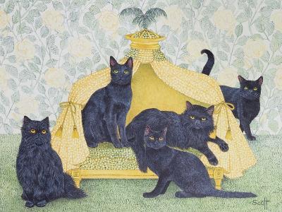 Black Velvet-Pat Scott-Giclee Print