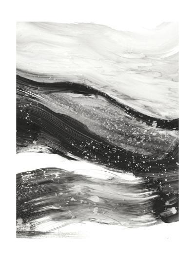 Black Waves I-Ethan Harper-Premium Giclee Print