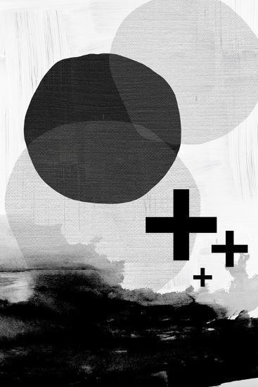 Black White Scandi Abstract-Urban Epiphany-Art Print