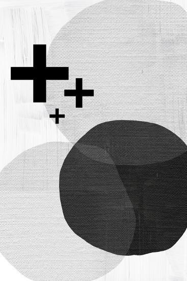 Black White Scandi Modern-Urban Epiphany-Art Print