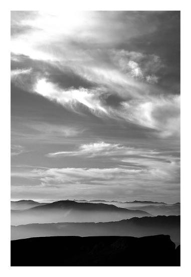 Black & White Sky-PhotoINC Studio-Art Print
