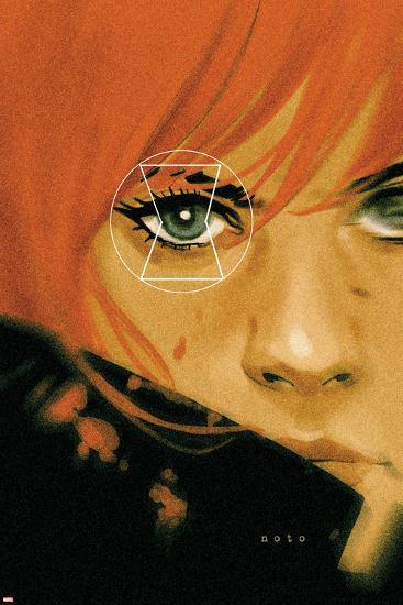 Black Widow No. 18 Cover-Phil Noto-Art Print