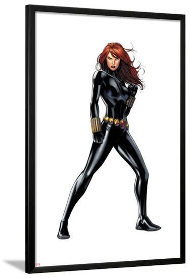 Black Widow--Lamina Framed Poster