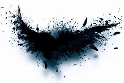 Black Wings-Sergey Nivens-Art Print
