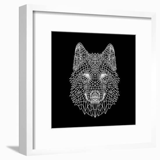 Black Woolf-Lisa Kroll-Framed Art Print