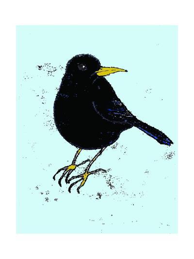 Blackbird, 2009-Sarah Thompson-Engels-Giclee Print
