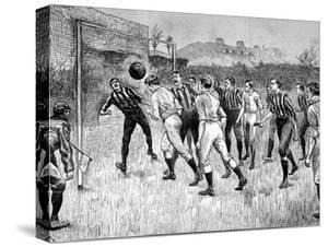Blackburn Rovers Vs. Notts County F.A. Cup Final, 1891