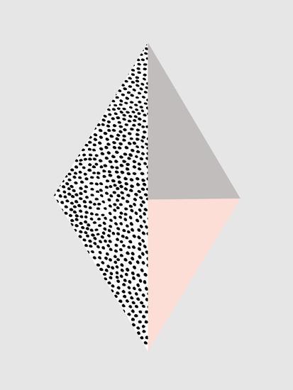 Blackdots-Nanamia Design-Art Print