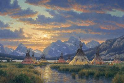 Blackfeet of the Rockies-Randy Van Beek-Giclee Print