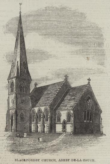 Blackfordby Church, Ashby-De-La-Zouch--Giclee Print