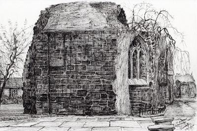 Blackfrierschapel, St. Andrews, 2007-Vincent Alexander Booth-Giclee Print