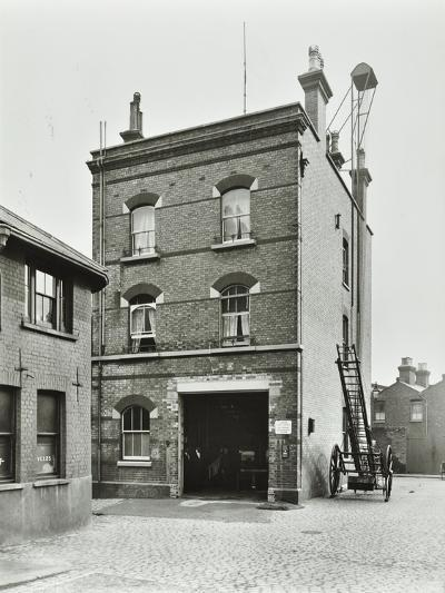 Blackheath Fire Station, Tranquil Vale, Blackheath, London, 1905--Photographic Print