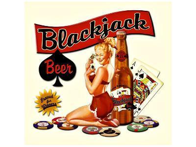 Blackjack Beer--Giclee Print