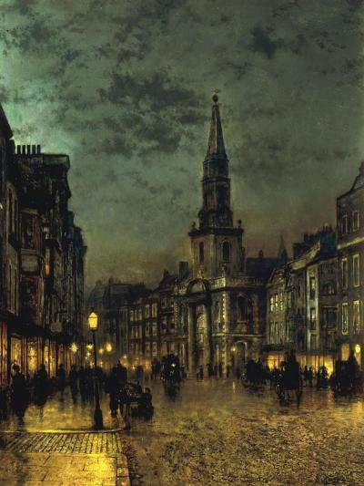 Blackman Street, Borough, London, 1885-John Atkinson Grimshaw-Giclee Print