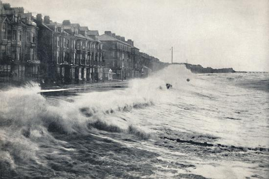 'Blackpool - A Rough Day', 1895-Unknown-Photographic Print