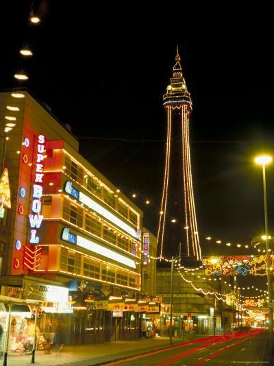 Blackpool Illuminations, Blackpool, Lancashire, England, United Kingdom-Roy Rainford-Photographic Print