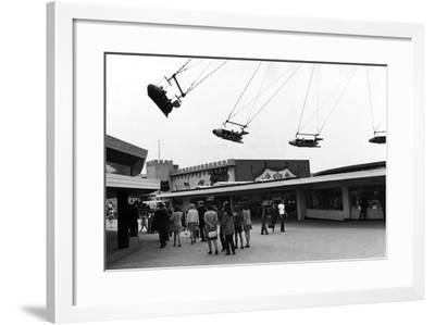Blackpool Pleasure Beach--Framed Photographic Print