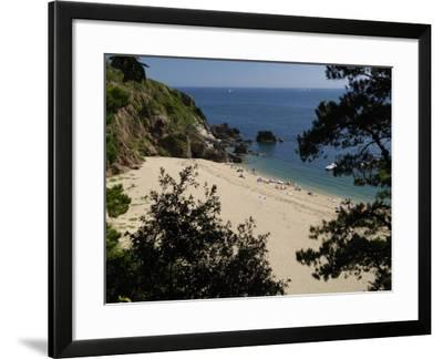 Blackpool Sands, South Devon, England, United Kingdom, Europe-Rob Cousins-Framed Photographic Print