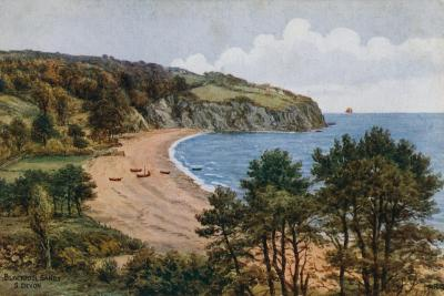 Blackpool Sands, South Devon-Alfred Robert Quinton-Giclee Print