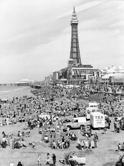 Blackpool tower, 1894-Unknown-Photographic Print
