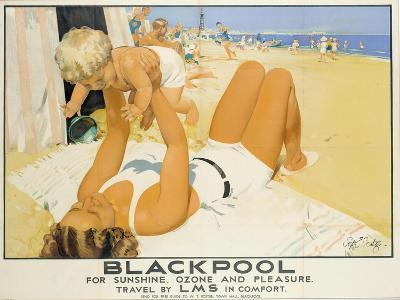 Blackpool-Septimus Edwin Scott-Giclee Print