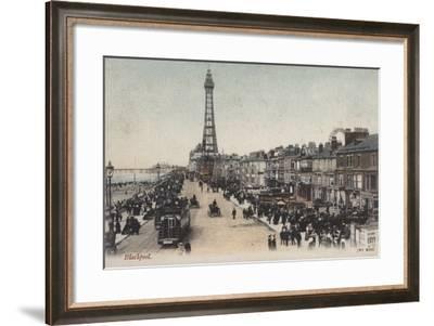 Blackpool--Framed Photographic Print