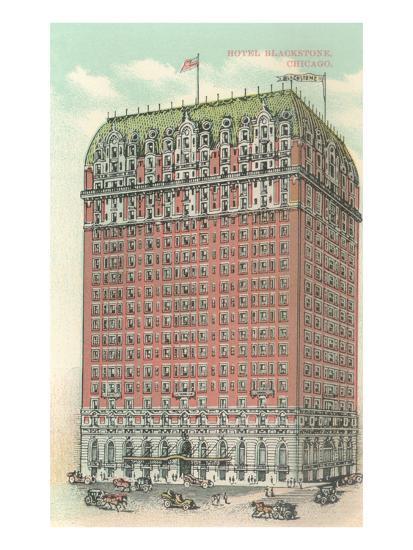 Blackstone Hotel, Chicago, Illiniois--Art Print