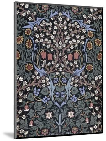 Blackthorn, Wallpaper-William Morris-Mounted Premium Giclee Print