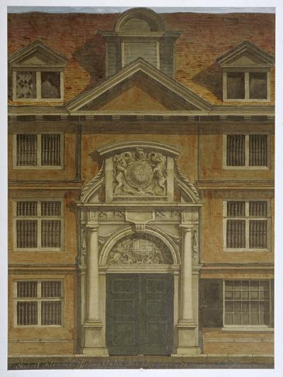 Blackwell Hall, City of London, 1819-Robert Blemmell Schnebbelie-Giclee Print