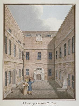Blackwell Hall, City of London, 1819--Giclee Print