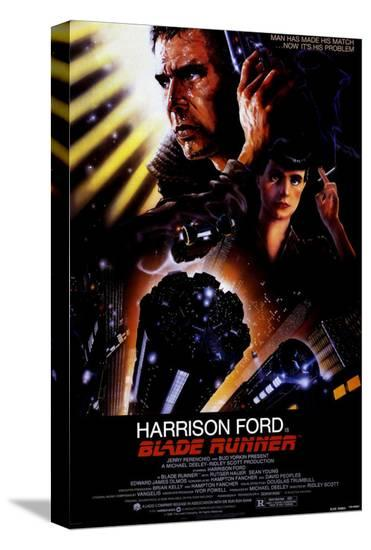 Blade Runner--Stretched Canvas Print