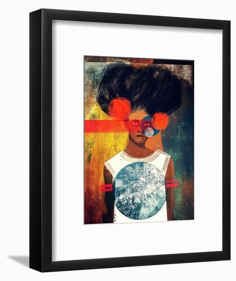Blade Running-Erin K. Robinson-Framed Premium Giclee Print
