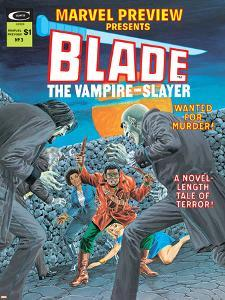Blade The Vampire Slayer No.3 Cover: Blade
