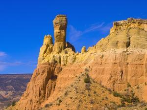 Chimney Rock at Ghost Ranch by Blaine Harrington