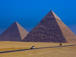 Great Pyramids of Giza by Blaine Harrington