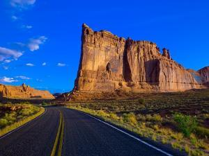 Road through Arches National Park by Blaine Harrington