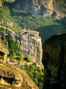 Roussanou Monastery, Meteora, Greece by Blaine Harrington