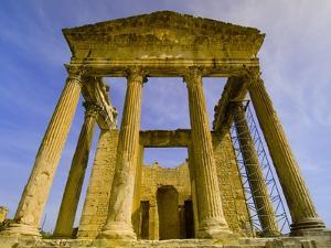 Ruins of Capitoline Temple by Blaine Harrington