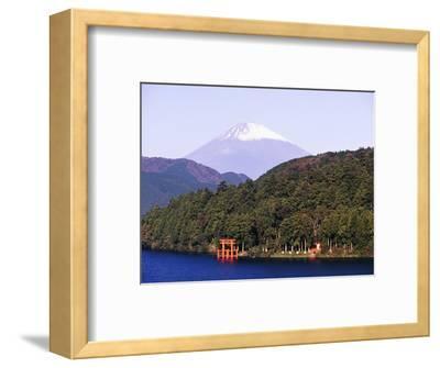 Shinto Shrine on Shore of Lake Ashi