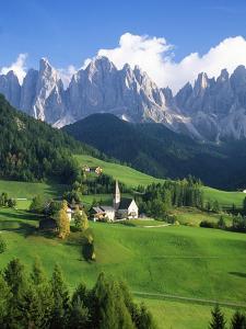 St. Magdalena in the Dolomites by Blaine Harrington