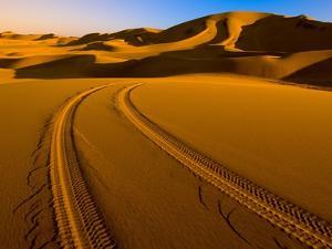 Swakopmund Dunes in Namib Desert by Blaine Harrington